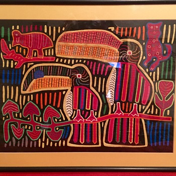 Mola from Panama - Folk Art