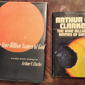 Arthur C. Clarke's 9 Billion Names of God Collection - Books