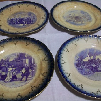 Imperial Chine plates is all know help - China and Dinnerware