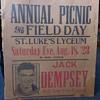 Jack Dempsey Sparing Match 1923