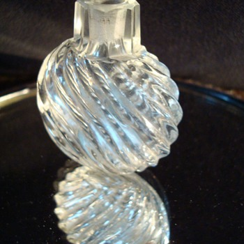 Collection of 18th Century Crystal Perfume Bottles