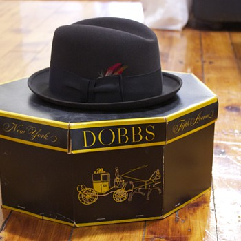 Dobbs Vintage Hat - Hats