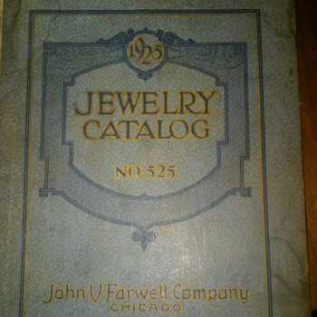 1925 John Farwell company jewelry catalog - Books