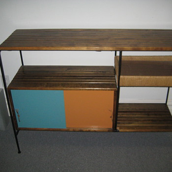 Arthur Umanoff by Raymor shelving/cabinet unit - Furniture