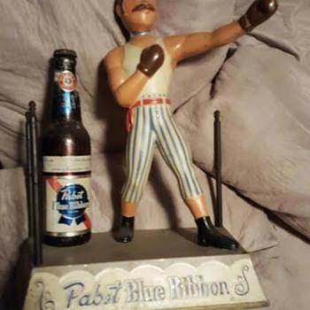 PBR Boxer figure - Breweriana