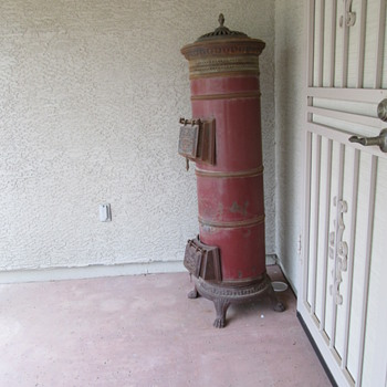 Antique Parlor Stove - Victorian Era