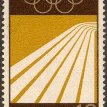 "1969 - W. Germany - ""Olympic Games"" Postage Stamp Series"