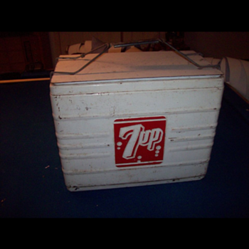 7up Atlas 18 Cooler - Advertising
