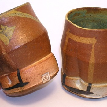 Japanese Cups ID - Art Pottery