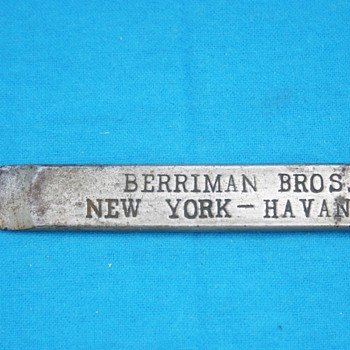 Berriman Bros. New York - Havana - High Grade Havana Cigars