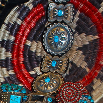 Native American Concho Belt - Native American