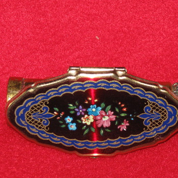 vintage lipstick holder with mirror - Accessories