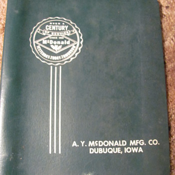 some pump catalogs, from the old bulk plant