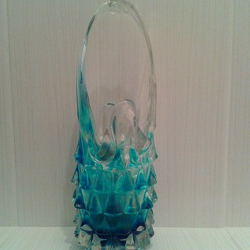 Blue/Aqua Glass ! Dont Know What !