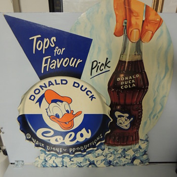 Donald Duck Cola - Signs