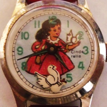 Animated Dove Cinderella Wrist Watch