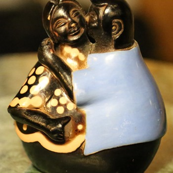 Pottery Couple by Manuel Sandoval Valdez - Peru