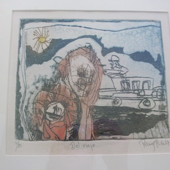Found  Cool Lithographs? - Visual Art