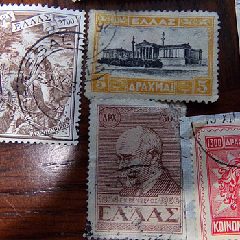 Stamps of Greece/Crete?