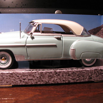 1950 Chevy Bel Air - Model Cars