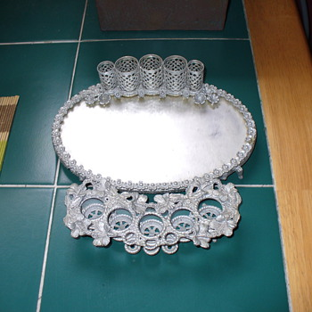 Filigree Vanity Set