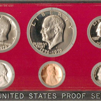 1975 S - U.S. Proof Coins Set