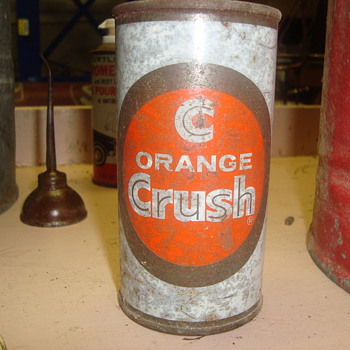 orange crush  can  - Bottles