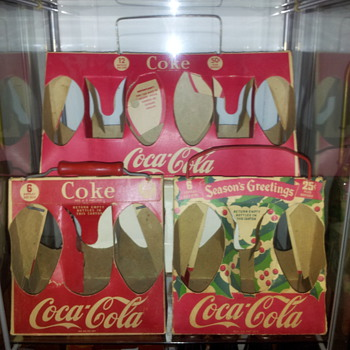 Set of 3 Coke Carriers - Coca-Cola