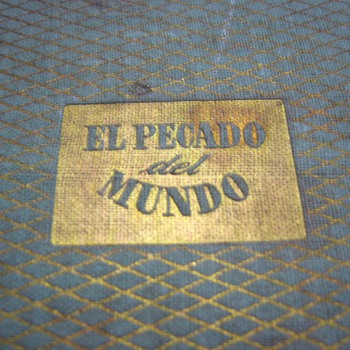 """El Pecado del mundo"" by Maxence Van der Meersch (1948 - spanish first edition)"