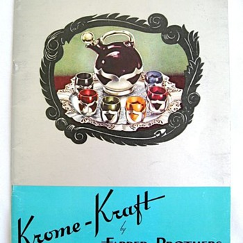 Vintage KROME-KRAFT CATALOG? - Books