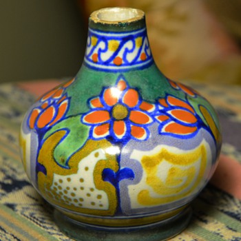 Small Gouda Bottle - Art Pottery