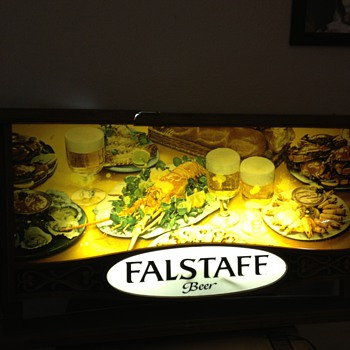Falstaff Beer Sign - Signs