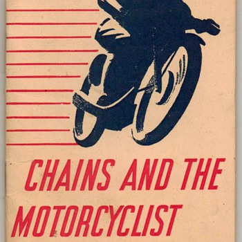 1949 - Renold & Coventry Motorcycle Chains Booklet - Paper