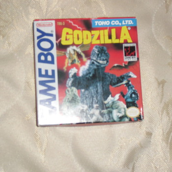 Godzilla Gamboy - Games