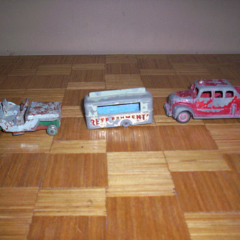 Still More Wrecks - Model Cars