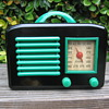 Art Deco General Television Tube Radio 5A5 from 1946
