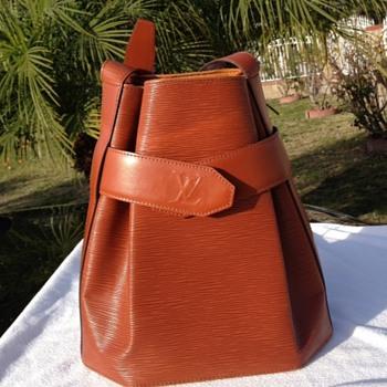 Louis Vuitton Vintage Epi Red Sac d'epaule Sling Bag  - Accessories