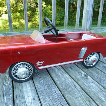 Late '60's AMF Mustang 535 Pedal Car - Toys