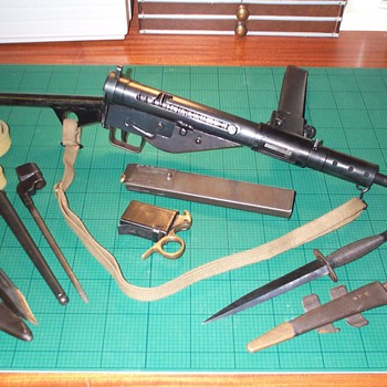 My WW2 Collection ~ Sten MK II - Military and Wartime