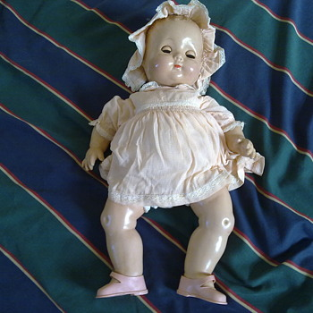 EFFENBEE BISQUE DOLL - Dolls