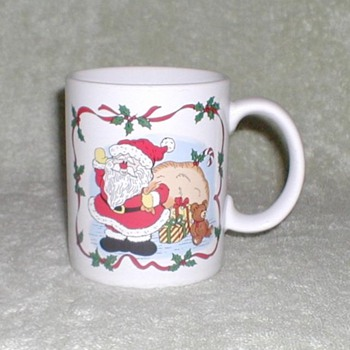 Coffee Cup - Christmas Santa