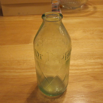 Vintage Dr. Pepper Bottle  - Bottles