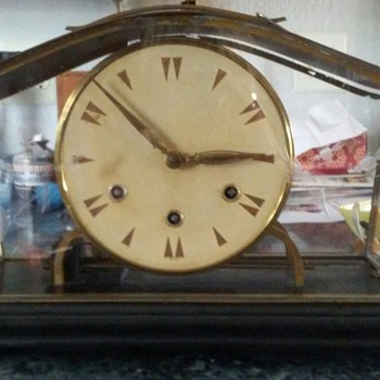 Any body know anything about this clock? It has no name or date. Just says germany