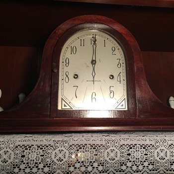 Ansonia Mantle Clock - circa ? - Clocks