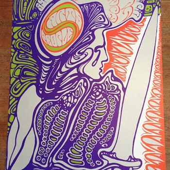 Wes Wilson ACA poster, 1968 - Posters and Prints
