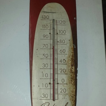 Coca Cola Cigar Thermometer - Coca-Cola