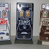 U.S. Postage Stamp Machine - Deco Porcleain