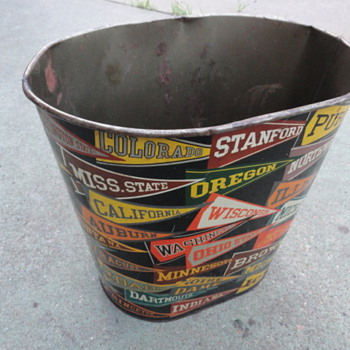 College Football Trash Can - Football