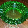 Fenton glass ashtray