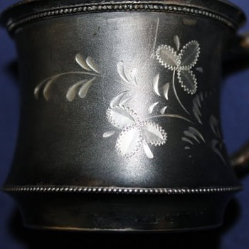 Cohannet Silver Baby Cup 1896 ? - Kitchen